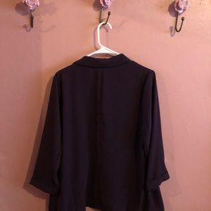 NEW Eggplant Colored Blazer Forever 21 w/ Tags
